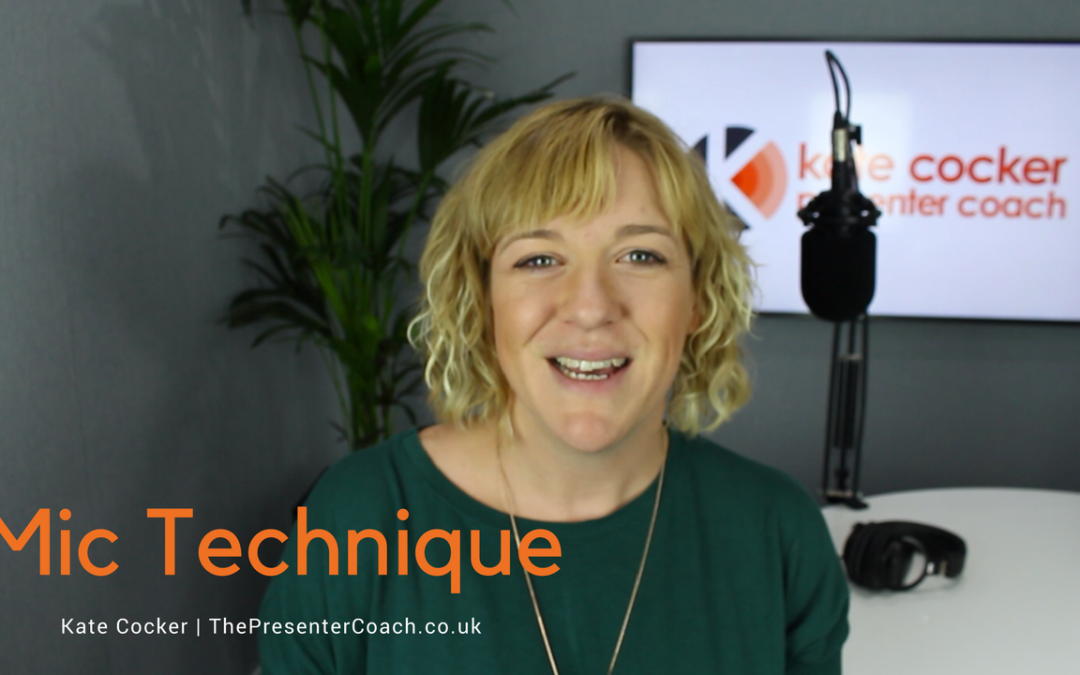 Radio Presenter Tip #6 | Mic Technique